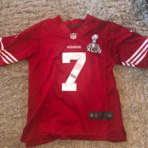 49ers Kaepernick jersey with patch